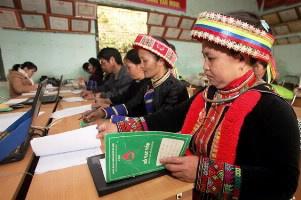 Chương trình tín dụng chính sách đặc thù hỗ trợ phát triển kinh tế - xã hội vùng dân tộc thiểu số và miền núi