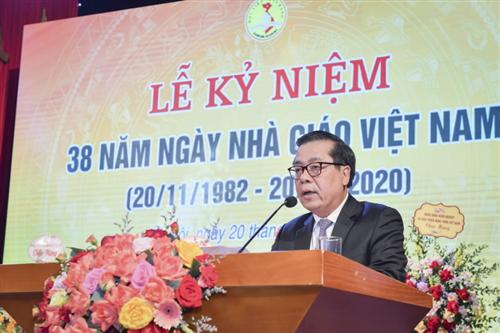 Học viện Ngân hàng kỷ niệm 38 năm ngày Nhà giáo Việt Nam 20/11