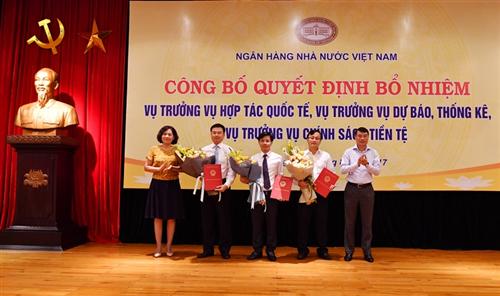 Phó Tổng Giám đốc Vietcombank Phạm Thanh Hà được bổ nhiệm làm Vụ trưởng Vụ Chính sách tiền tệ NHNN Việt Nam