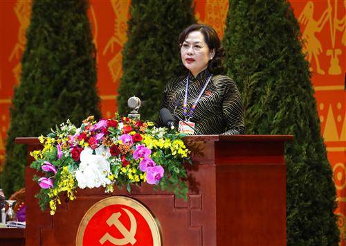 Thống đốc NHNN Nguyễn Thị Hồng trúng cử Ban Chấp hành Trung ương Đảng khóa XIII