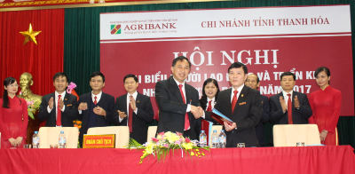 Agribank Thanh Hóa  triển khai nhiệm vụ kinh doanh năm 2017
