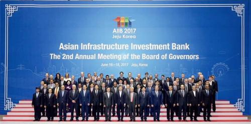 Hội nghị thường niên lần thứ hai Hội đồng Thống đốc Ngân hàng Đầu tư Cơ sở hạ tầng châu Á (AIIB)