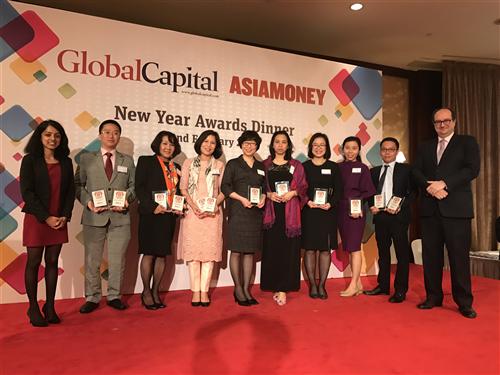 BIDV nhận 12 giải thưởng cho dòng sản phẩm có thu nhập cố định do tạp chí Asiamoney trao tặng
