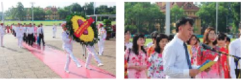 Trung tâm Thông tin tín dụng quốc gia Việt Nam báo công dâng Bác và kết nạp đảng viên mới