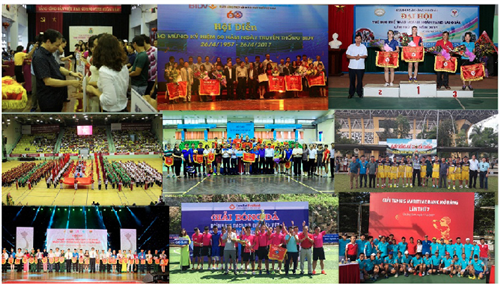 Sôi nổi các hoạt động chào mừng Đại hội Công đoàn các cấp, Đại hội VI Công đoàn Ngân hàng Việt Nam