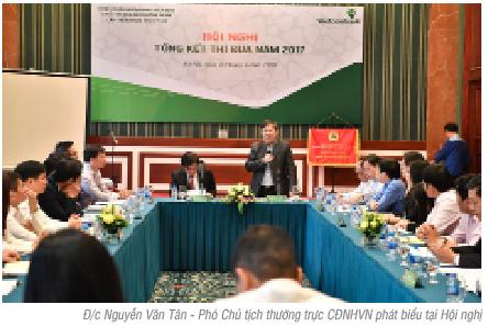 Khối Công đoàn cấp trên cơ sở trực thuộc Công đoàn Ngân hàng Việt Nam tổng kết thi đua năm 2017