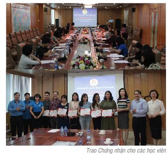 Công đoàn Ngân hàng Việt Nam bồi dưỡng nghiệp vụ kế toán, tài chính công đoàn
