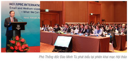 Hội thảo: Vai trò của tổ chức Bảo hiểm tiền gửi đối với các tổ chức tham gia bảo hiểm vừa và nhỏ