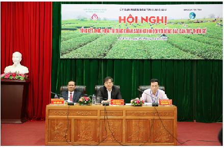 Hội nghị tổng kết thực hiện tín dụng chính sách đối với đồng bào dân tộc thiểu số trên địa bàn tỉnh Lai Châu