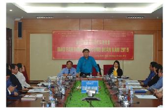 Đại diện Công đoàn Ngân hàng Việt Nam tại Quảng Ninh giao ban công tác năm 2019