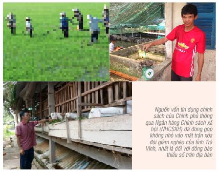 Hiệu quả tín dụng chính sách xã hội đối với đồng bào dân tộc thiểu số tại tỉnh Trà Vinh