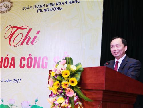 Đoàn Thanh niên NHTW và Công đoàn Cơ quan NHNN Trung ương tổ chức Hội thi Nét đẹp văn hóa công sở