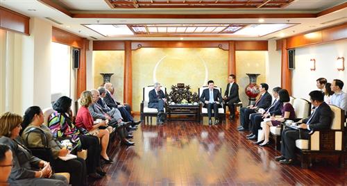 Đoàn đại biểu Đảng Cộng sản Cuba thăm và làm việc tại Vietcombank