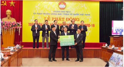 Vietcombank - Ngân hàng luôn tâm huyết  với công tác an sinh xã hội và hỗ trợ cộng đồng