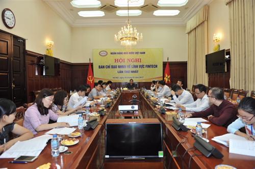 Hội nghị Ban Chỉ đạo Fintech NHNN lần thứ nhất