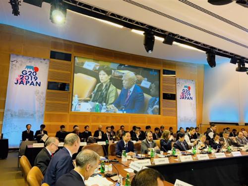 Phó Thống đốc Đào Minh Tú tham dự Hội nghị Bộ trưởng Tài chính và Thống đốc NHTW G20 năm 2019 tại Washington D.C., Hoa Kỳ