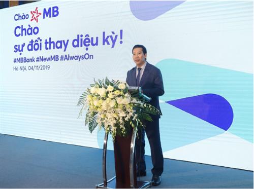 300 điểm giao dịch của MB có nhận diện mới