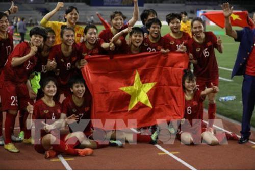 Vietcombank thưởng 500 triệu đồng cho Đội tuyển bóng đá nữ Việt Nam
