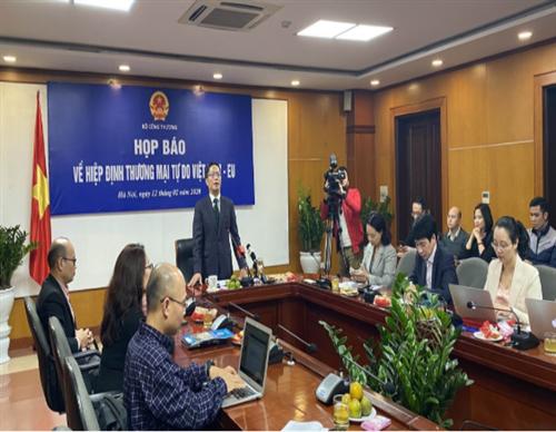 EVFTA được thông qua: Việt Nam từ quốc gia đi sau thành nước đi đầu