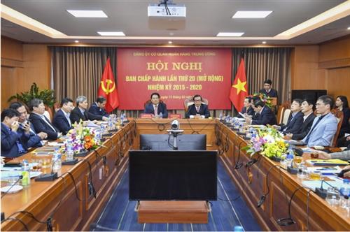 Đảng ủy cơ quan NHTW: Triển khai thực hiện có hiệu quả các nhiệm vụ chính trị