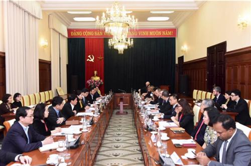 Cộng đồng doanh nghiệp Hoa Kỳ mong muốn tăng cường hợp tác trong lĩnh vực ngân hàng-tài chính với Việt Nam