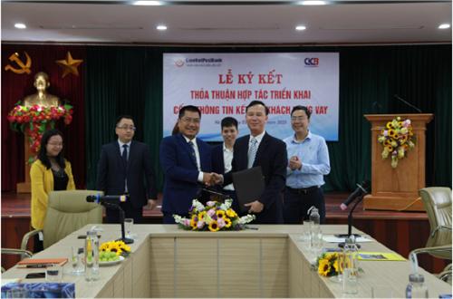 CIC và LienVietPostBank ký kết thỏa thuận hợp tác