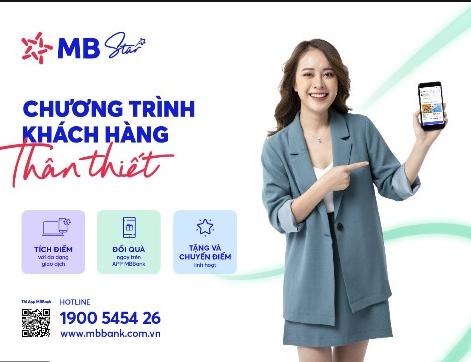 MB Star - kết nối bạn với thế giới ưu đãi