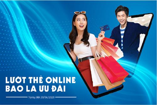 Sacombank dành nhiều ưu ðãi cho khách hàng mở và giao dịch thẻ trực tuyến