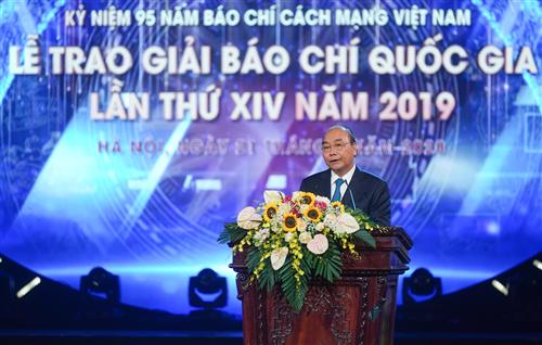 Thủ tướng Nguyễn Xuân Phúc: Báo chí cần giữ vững tinh thần cách mạng