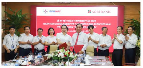 Agribank và Tổng Công ty Điện lực Miền Bắc - Nâng tầm hợp tác