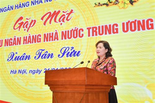 Ngân hàng Nhà nước Việt Nam gặp mặt cán bộ hưu trí