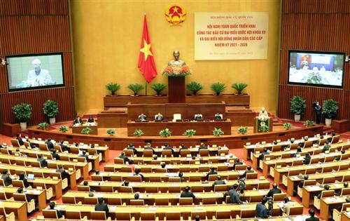 Tổng Bí thư, Chủ tịch nước Nguyễn Phú Trọng: Tổ chức bầu cử đại biểu Quốc hội và đại biểu HĐND các cấp đạt kết quả cao nhất, trở thành ngày hội của toàn dân