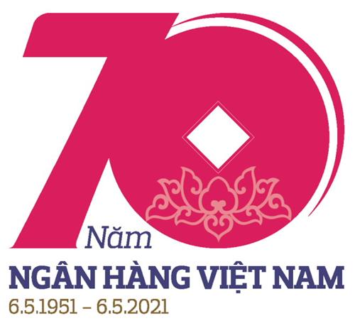 Công bố biểu trưng và bộ nhận diện hình ảnh 70 năm Ngân hàng Việt Nam