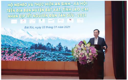 Công đoàn Ngân hàng Việt Nam tổ chức hoạt động an sinh xã hội trên địa bàn huyện Bát Xát, tỉnh Lào Cai