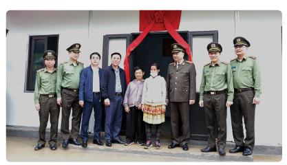 Vietcombank dành 30 tỷ đồng hỗ trợ kinh phí xây nhà cho hộ nghèo, khó khăn  về nhà ở tại huyện Mường Lát, tỉnh Thanh Hóa