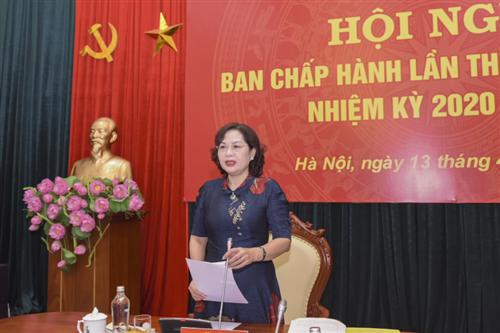 Đảng ủy cơ quan NHTW: Hội nghị Ban Chấp hành lần thứ 4 (mở rộng), nhiệm kỳ 2020-2025