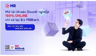 BIZ MBBank - Giải pháp ngân hàng số toàn diện hàng đầu dành cho doanh nghiệp