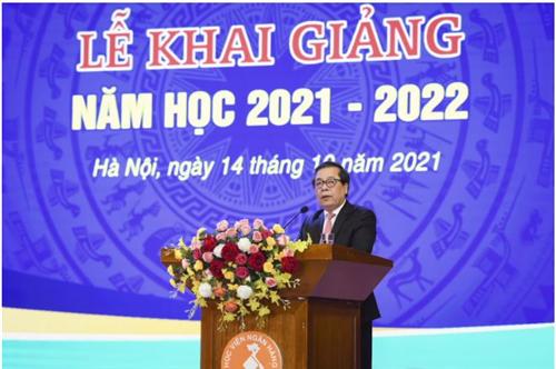 Học viện Ngân hàng khai giảng năm học 2021-2022