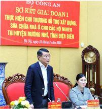 Vietcombank trao 10 tỷ đồng hỗ trợ kinh phí  xây dựng, sửa chữa nhà ở cho 200 hộ nghèo  tại huyện Mường Nhé, tỉnh Điện Biên