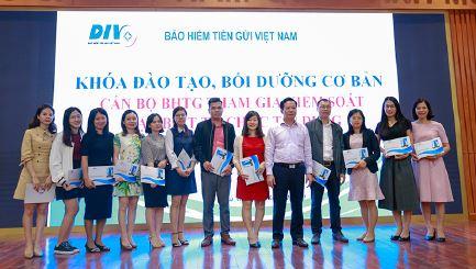 Bảo hiểm tiền gửi Việt Nam tổ chức khóa đào tạo  về công tác tham gia kiểm soát đặc biệt  tổ chức tín dụng