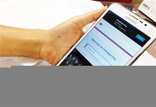 """Hướng phát triển dịch vụ """"mobile banking"""" cho các ngân hàng Việt Nam"""