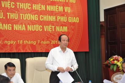 Tổ công tác của Thủ tướng: NHNN đã tích cực triển khai thực hiện các nhiệm vụ được Chính phủ, Thủ tướng giao