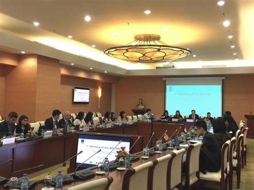 Hội nghị lần thứ 3 của nhóm công tác về Khuôn khổ Hội nhập Ngân hàng ASEAN