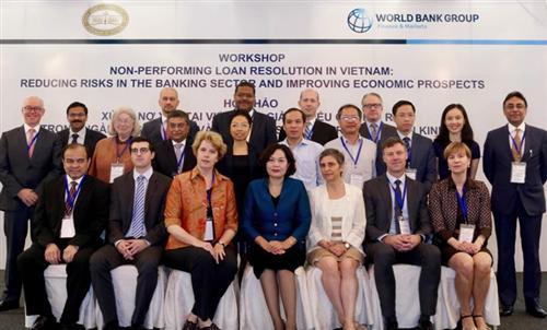 NHNN và WB phối hợp tổ chức Hội thảo chuyên đề về xử lý nợ xấu