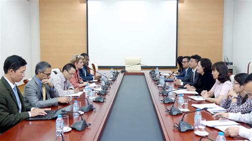 Phó Thống đốc Nguyễn Thị Hồng làm việc với Ngân hàng Thế giới về tài chính toàn diện