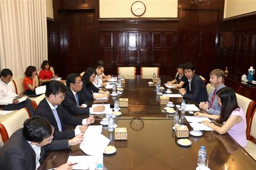 Phó Thống đốc Nguyễn Kim Anh tiếp Chuyên gia cao cấp Dự án MBI/ADB