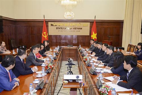 Thống đốc NHNN tiếp Chủ tịch Tập đoàn Alibaba