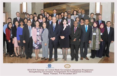 Hội thảo về Quản trị Ngân hàng Trung ương