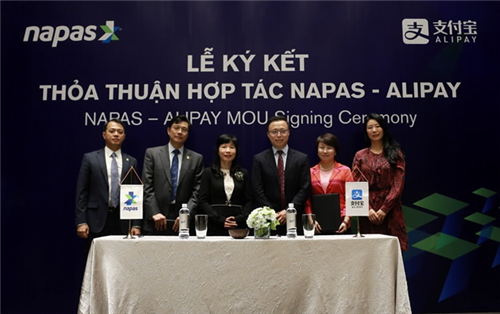 NAPAS ký thỏa thuận hợp tác với ALIPAY
