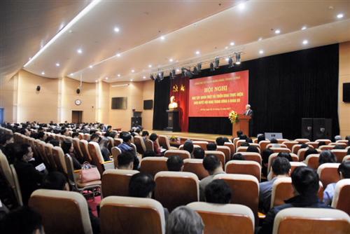 Hội nghị về học tập, quán triệt Nghị quyết Hội nghị Trung ương 6 khóa XII